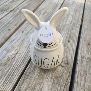 NEW Rabbit sugar Jar! :)